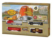 00647 Bachmann набор железной дороги Start set Santa Fe Flyer
