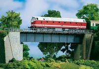 11341 Auhagen стальной мост Stahlbrucke