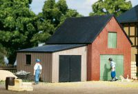 11408 Auhagen гараж и сарай Lagerschuppen mit Garage