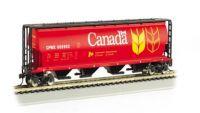 19131 Bachmann вагон Cylindrical Grain Hopper Canada Grain