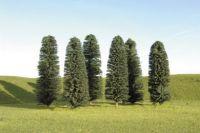 32005 Bachmann набор деревьев 12-15 см высотой 6 шт. 5in.- 6in.Cedar Trees - 6Pcs/Pk(Hard pack)