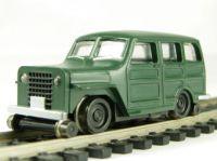 46207 Bachmann автомобиль на ж/д ходу 1950s 4 x 4 w/High Railers