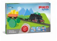"""57092 PIKO myTrain Стартовый набор """"Грузовой поезд с паровозом"""""""