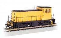 60607 Bachmann тепловоз GE 70 Ton Painted, Unlettered - Yellow & Black DCC