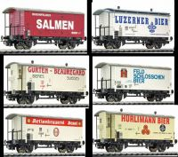 L240155Liliput набор пивных вагонов Bierwagen-Set 6tlg K2 SBB Ep.III