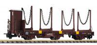 L245411 Liliput вагон Flachwagen 3-achs, Jblm, mit Stahlrungen, OBB, Ep.IV