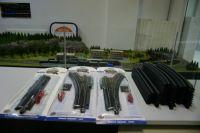 Набор рельсов и стрелок  на балластной призме Bachmann б/у